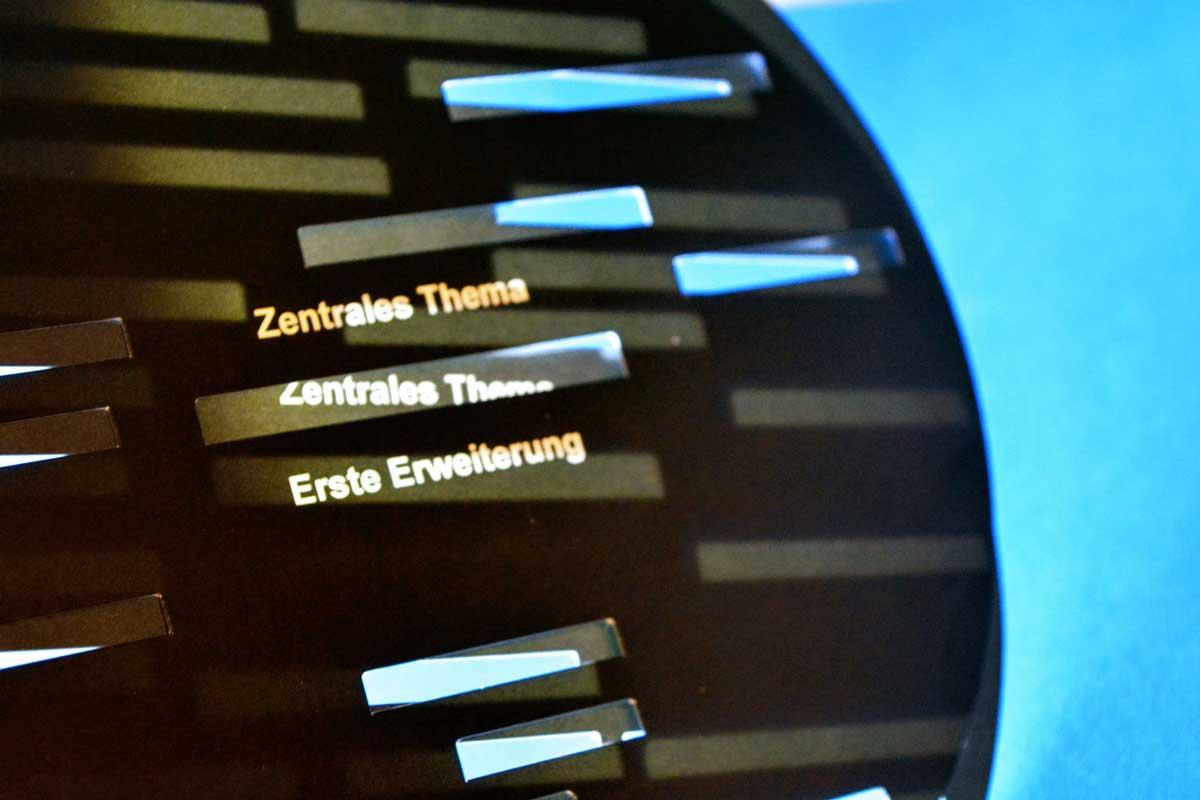 Patentiertes Werkzeug für die Beratung © Johannes Faupel